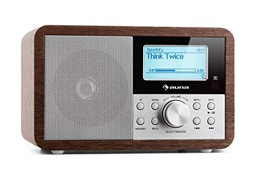 Una Internet Radio di Auna dalla linea vintage, ma con un cuore super tecnologico