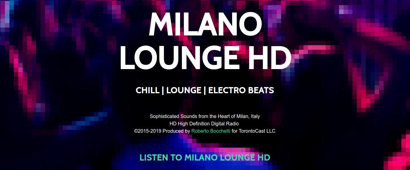 Ascolta Milano Lounge HD, radio digitale ad alta definizione. Fatti avvolgere dalla musica