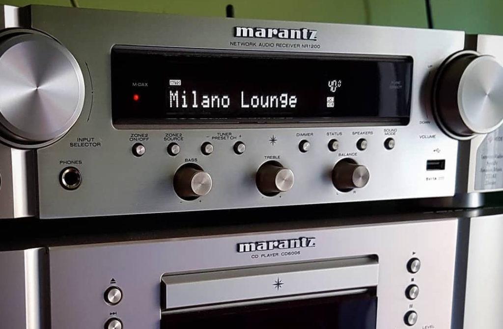 Lo Stereo di un ascoltatore di Milano Lounge